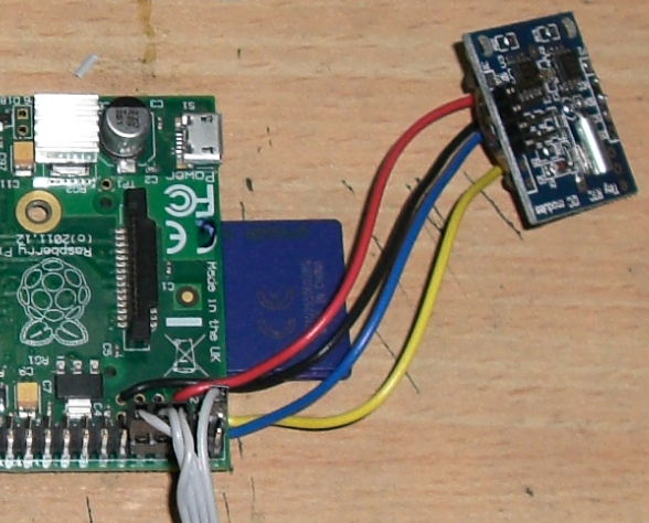 Electronics for Bharat: Raspberry Pi I2C Interfacing: With