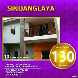 Rumah over kredit sindanglaya Bandung