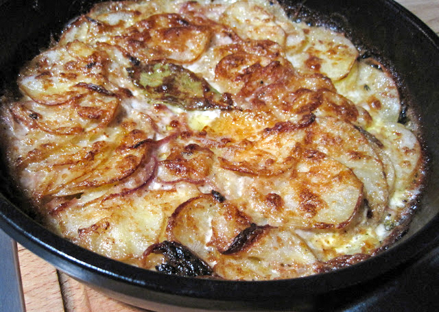 Quick Dauphinoise Potatoes