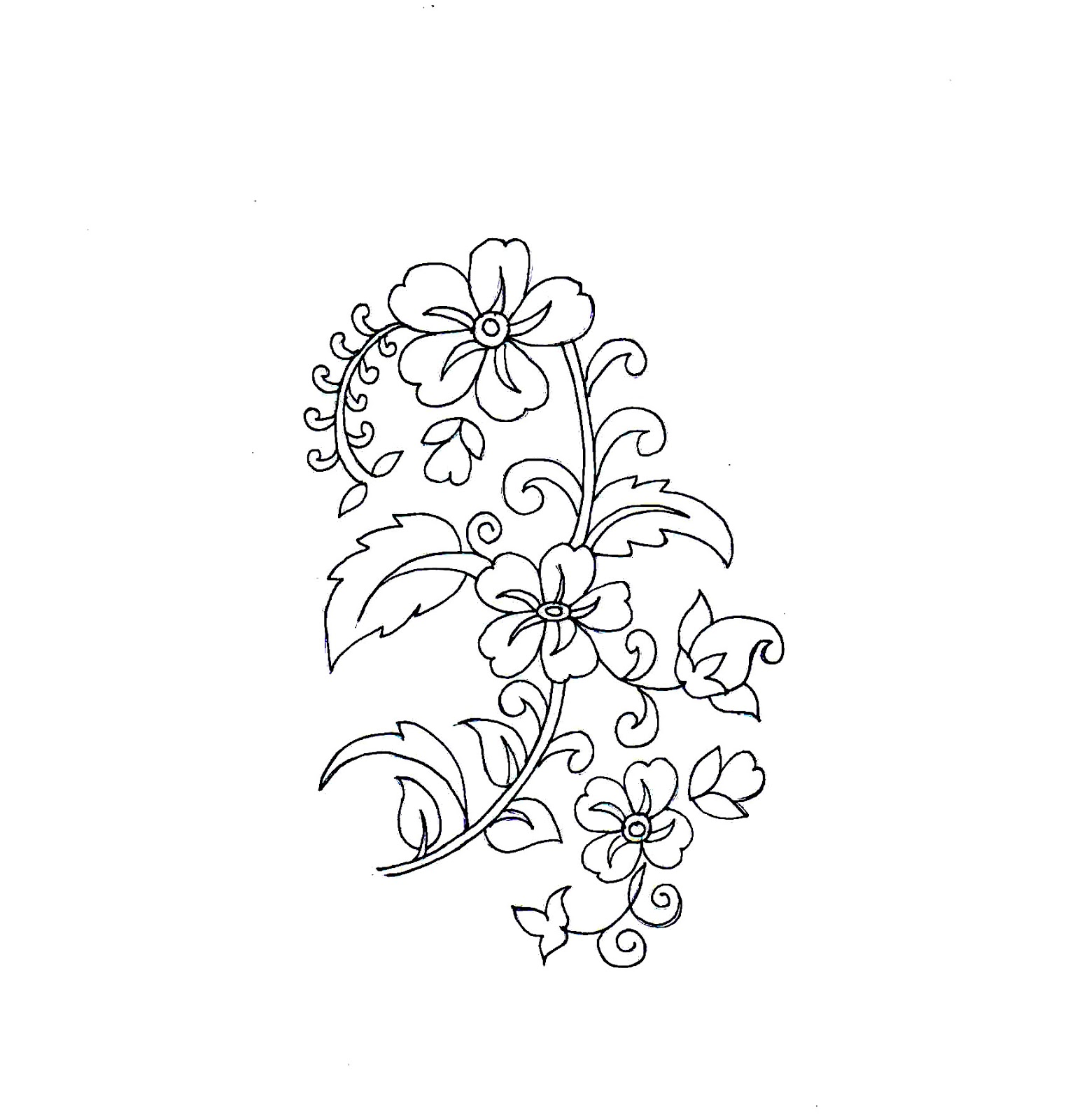 Embdesigntube Latest Sketches By Sarika Agrawal