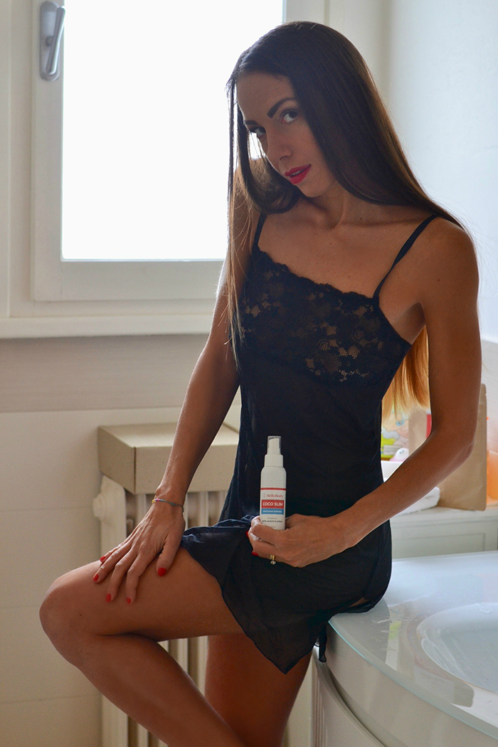 olio corpo coco slim