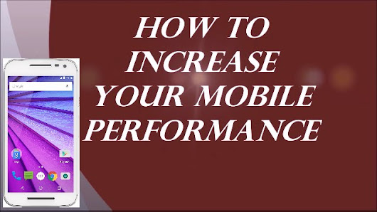 10 Tips to increase the performance of your Android phone - TIMEcube     ERROR 404 - TIMEcube