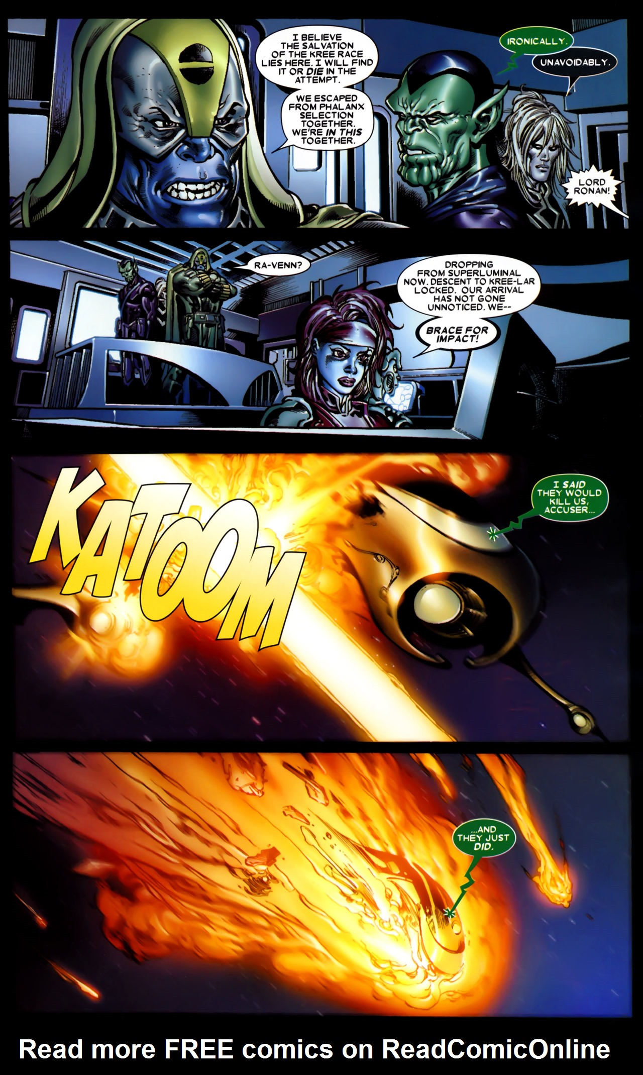Read online Annihilation: Conquest comic -  Issue #1 - 22