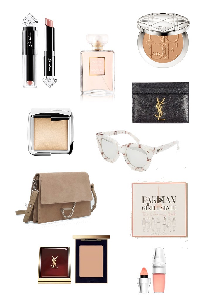 birthday wishlist, makeup wishlist