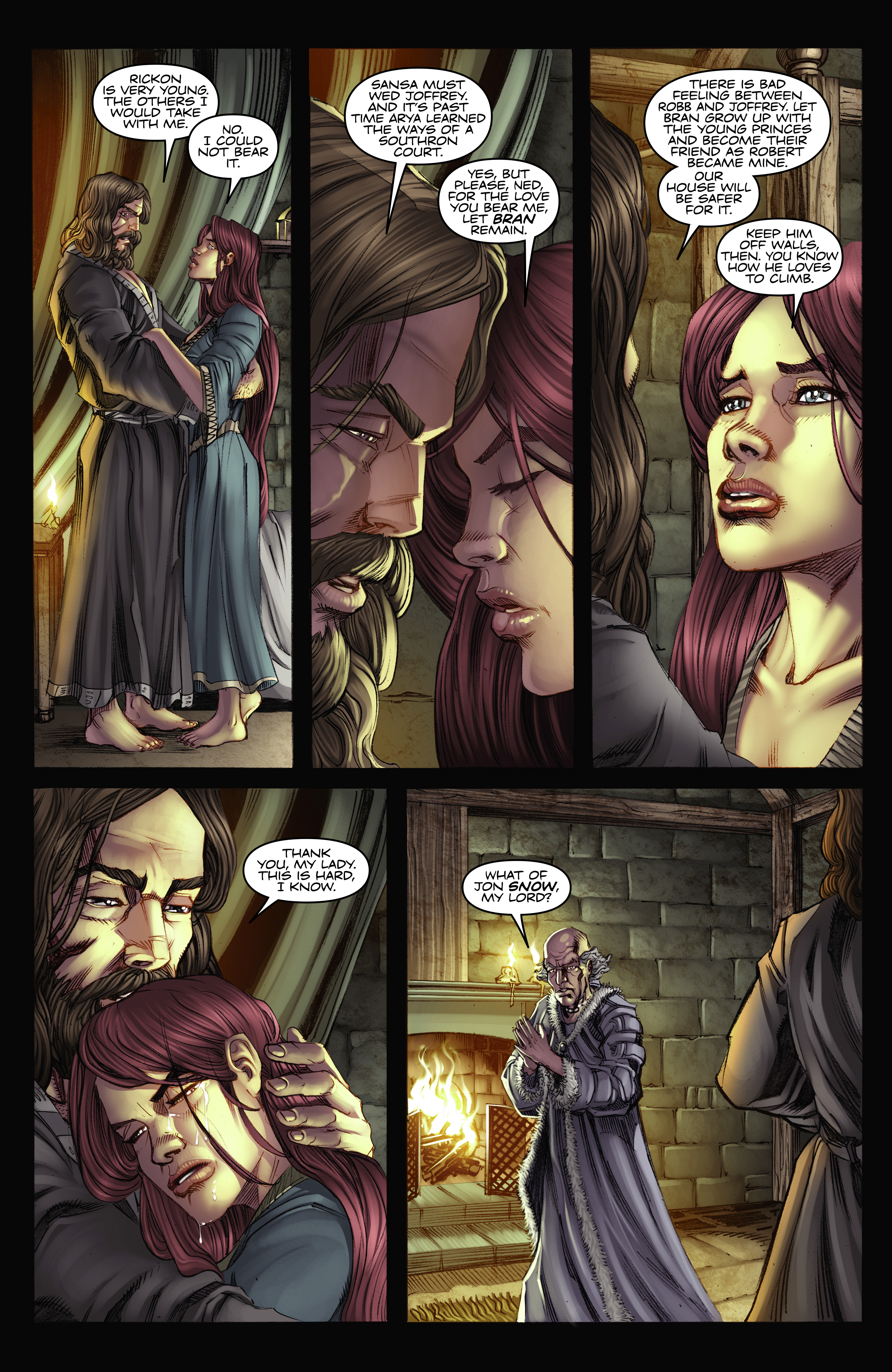 Read online A Game Of Thrones comic -  Issue #2 - 29