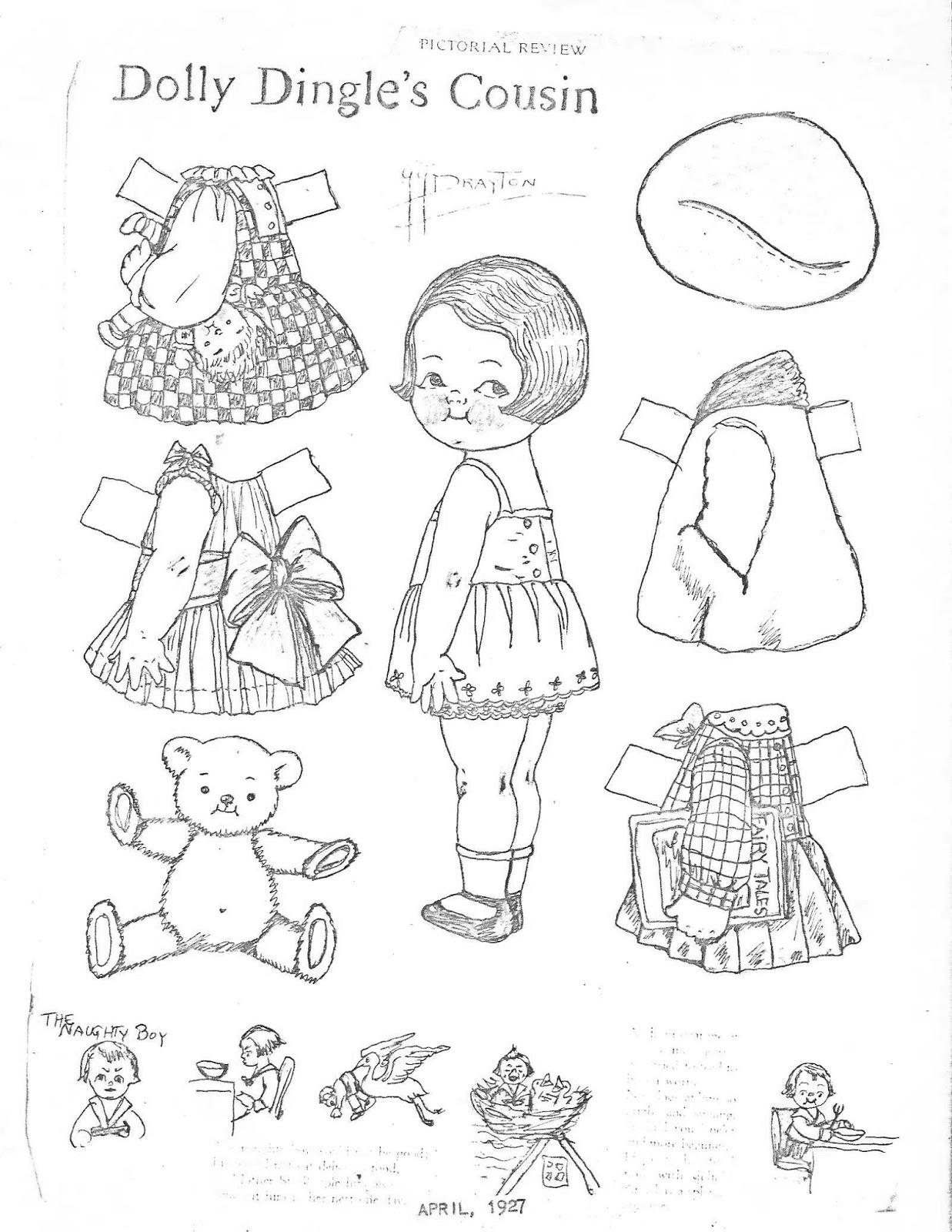 Miss Missy Paper Dolls: June 2015