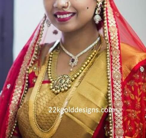 South Indian Bride Wedding Jewellery