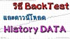 วิธี BackTest และดาวน์โหลด History Data มาลงที่เครื่องคอมพิวเตอร์เพื่อทดสอบระบบเทรด Forex ของตัวเอง