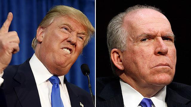 """¿Guerra abierta?: Trump llama """"filtrador de noticias falsas"""" al jefe de la CIA"""