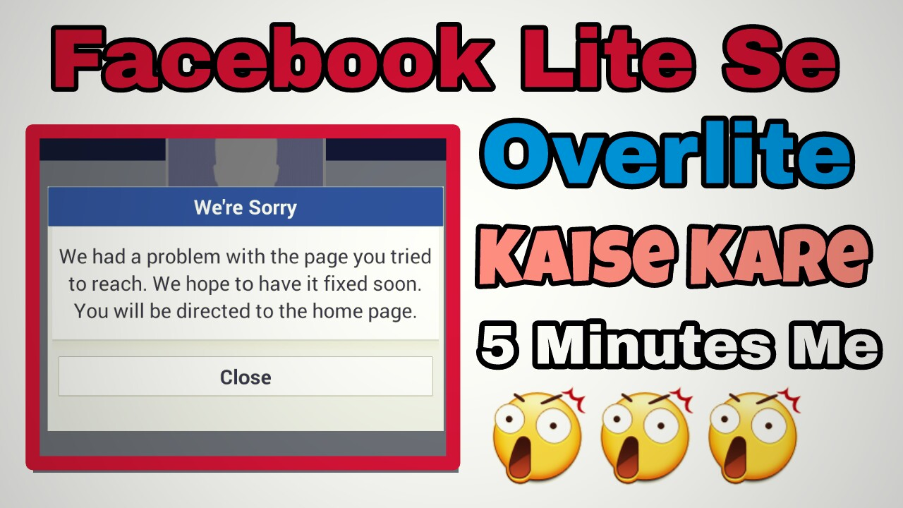 How to Create Overlite Facebook Account Using Android (FB