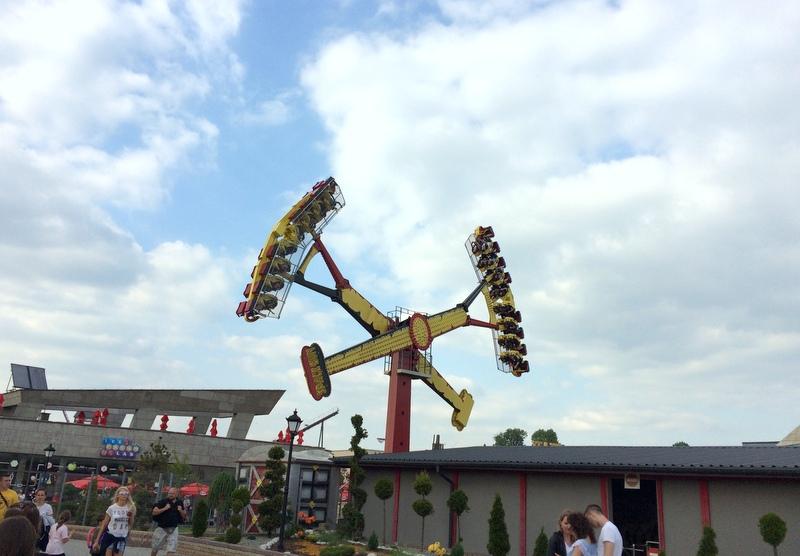 rollercoastery w energylandii