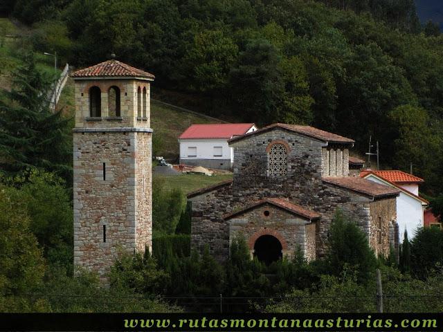 Ruta de Priañes: San Pedro de Nora, iglesia prerrománica