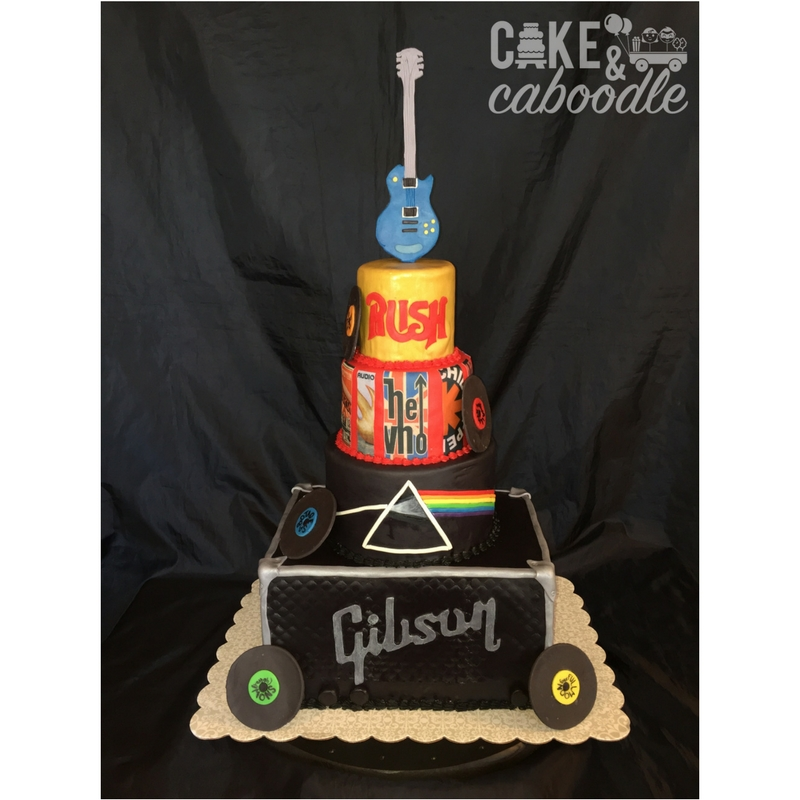 Rock And Roll Cake Cake And Caboodle