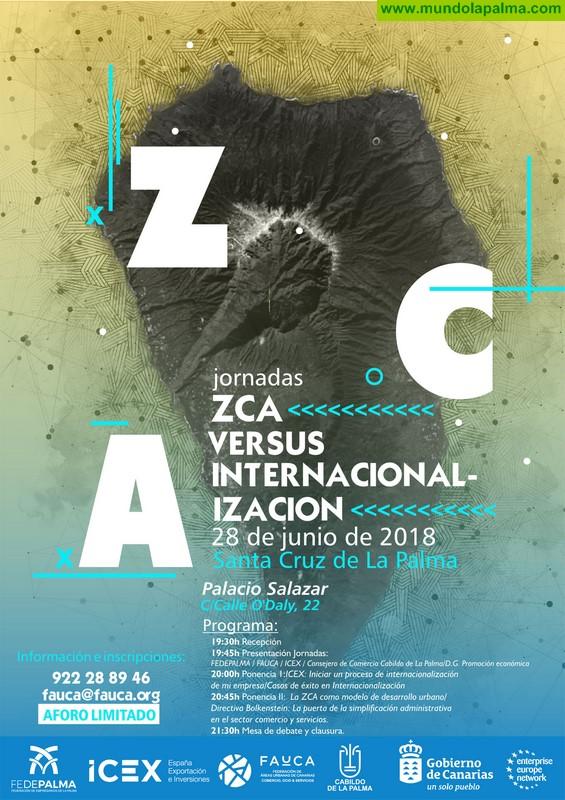 Fedepalma y FACUA traen a La Palma unas jornadas sobre zonas comerciales abiertas y la internacionalización empresarial