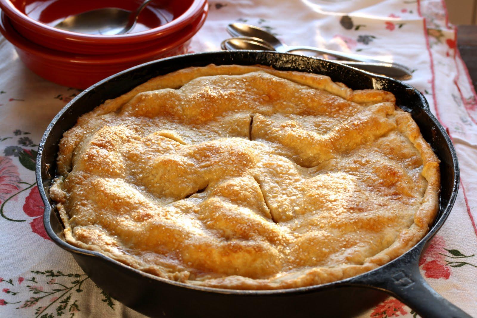 Skillet Apple Pie Saving Room For Dessert