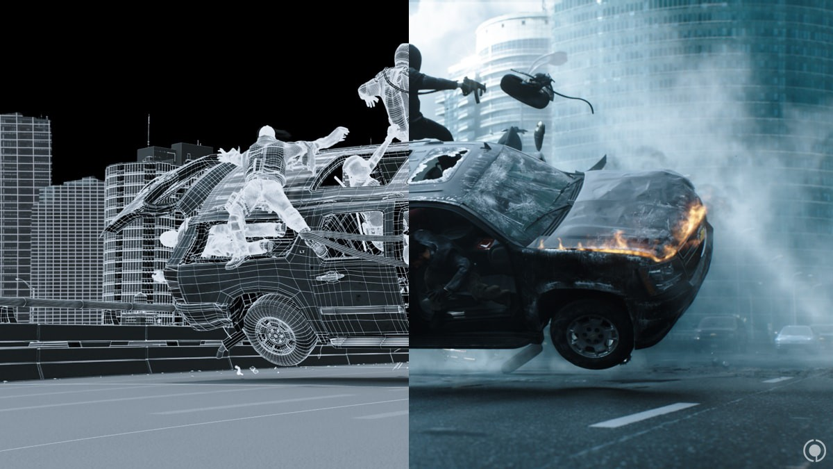 3d Moving Wallpaper Pictures Deadpool Vfx Breakdown Cg Daily News