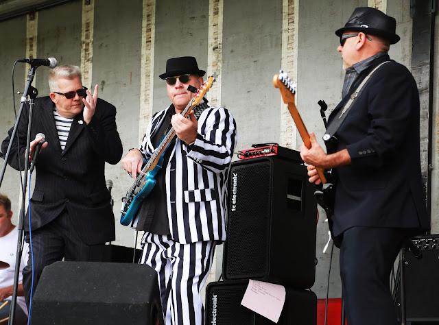 Madness Band Performing at Bradley Stoke Community Festival in Bristol, UK