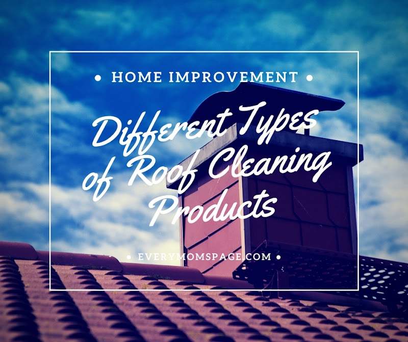 Different Types of Roof Cleaning Products
