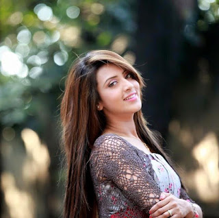 Bidya Sinha Saha Mim Beautiful Smile