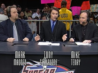 WCW Superbrawl 2000 -Mark Madden, Tony Schiavone, Mike Tenay