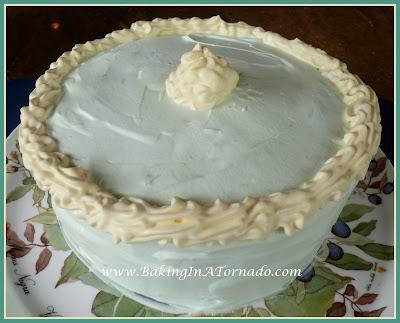 Key Lime Sponge Cake | www.BakingInATornado.com | #recipe #bake