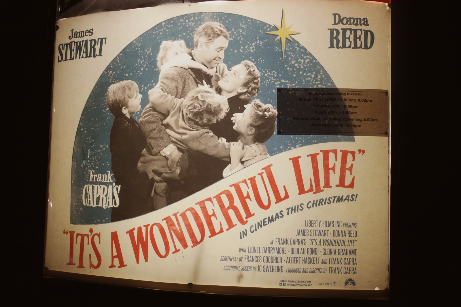 It's A Wonderful Life At Hyde Park Picture House