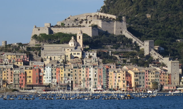 Portovenere seen from Palmaria Island