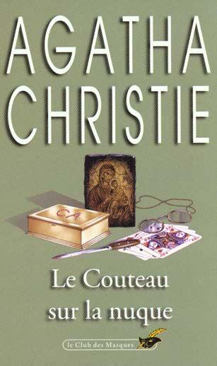 Le Couteau Sur La Nuque : couteau, nuque, Odyssée, Littéraire:, Couteau, Nuque, Agatha, Christie.
