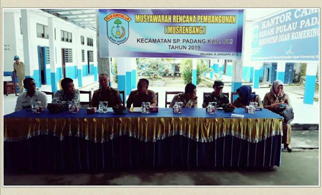 Musrenbang Tingkat Kecamatan di SP Padang Fokus Infrastruktur
