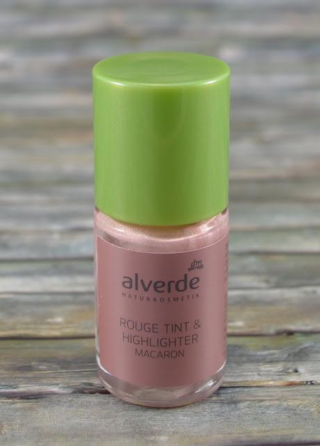 Alverde Rouge tint & Highlighter Macaron