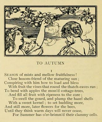 john keats poem to autumn essay A summary of to autumn in john keats's keats's odes learn exactly what happened in this chapter, scene, or section of keats's odes and what it means perfect for acing essays, tests, and quizzes, as well as for writing lesson plans.