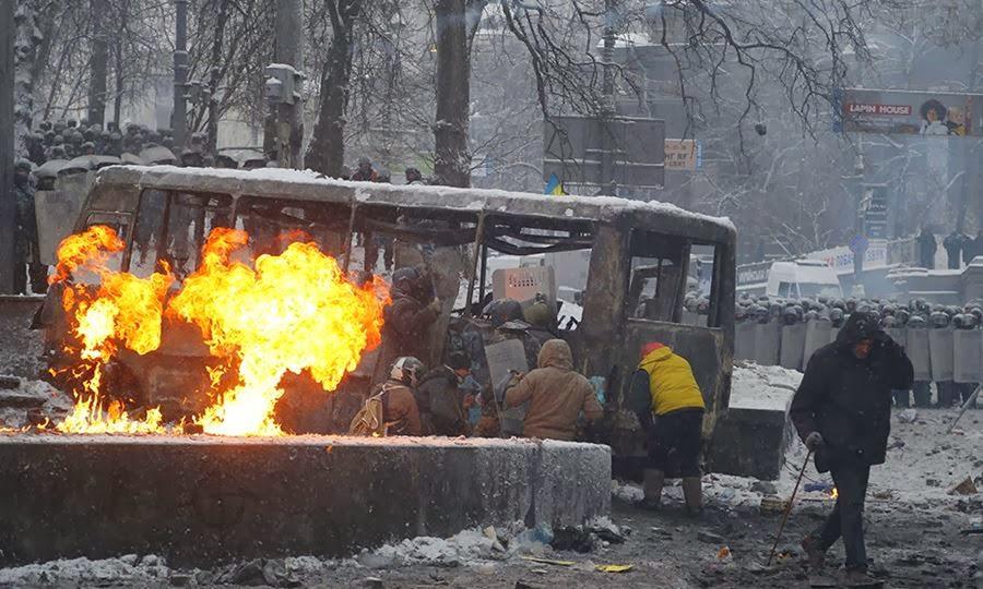 Ταραχές στην Ουκρανία
