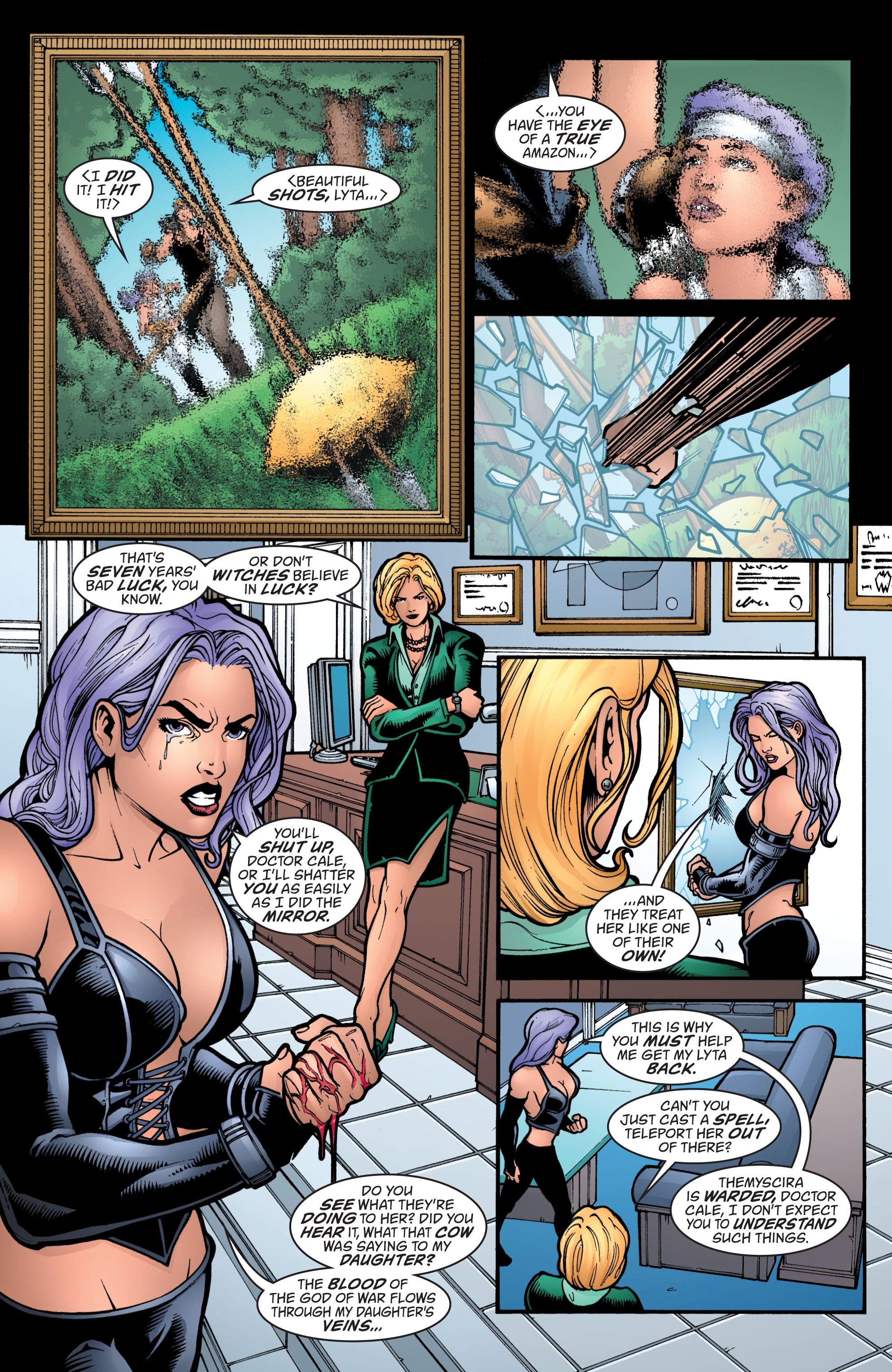 Read online Wonder Woman (1987) comic -  Issue #212 - 18
