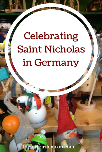 Gift giving at Saint Nicholas in Germany