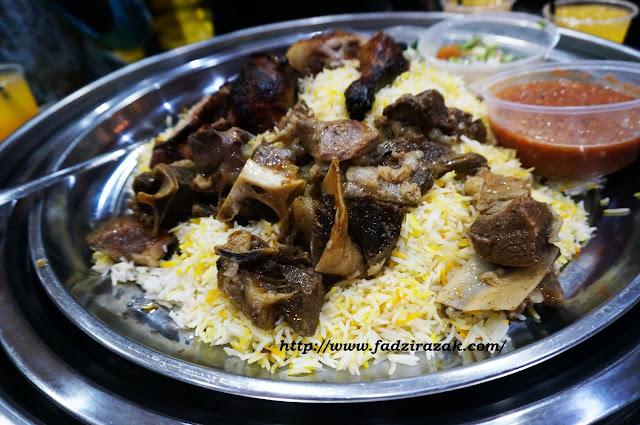 nasi arab paling sedap di KL