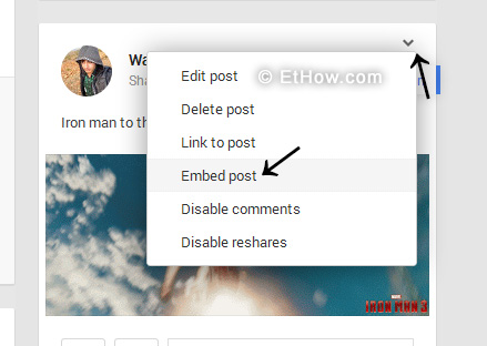 Tutorial on how to embed Google+ posts on your web pages.