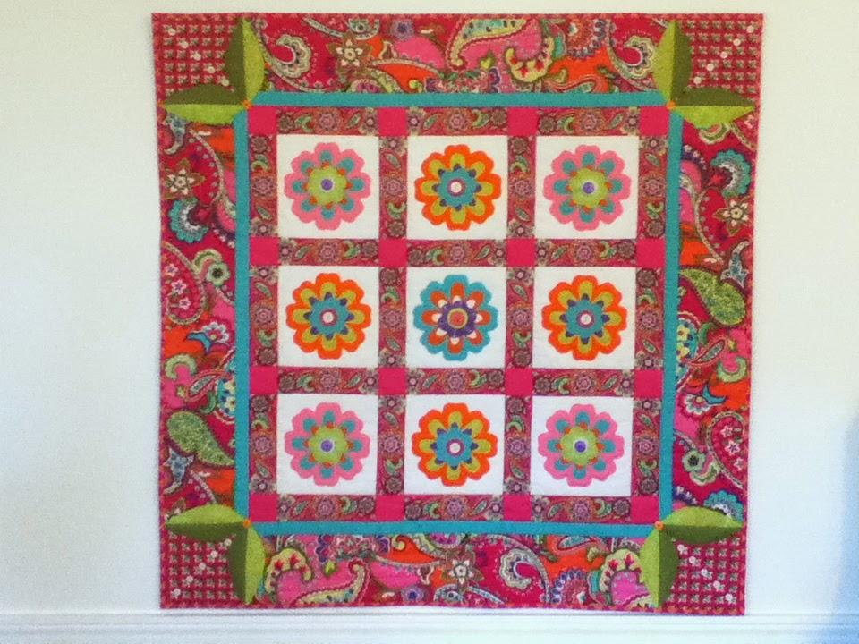 Kauffman Designs Vera Bradley Breast Cancer Raffle Quilt