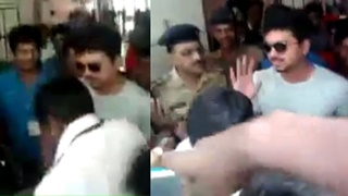 Actor Vijay at Coimbatore