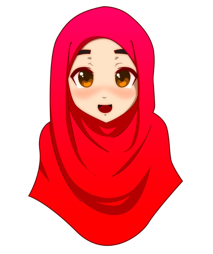 Ziyah Asbagz Anime Muslimah Yang Lucu And Imut