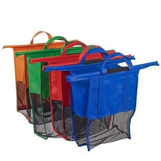 tas belanja, jual trolley bag, jual tas belanja, tas belanja lipat, tas belanja trolley