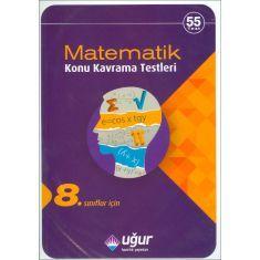 Uğur 8.Sınıflar İçin Matematik Konu Kavrama Testleri (2016)