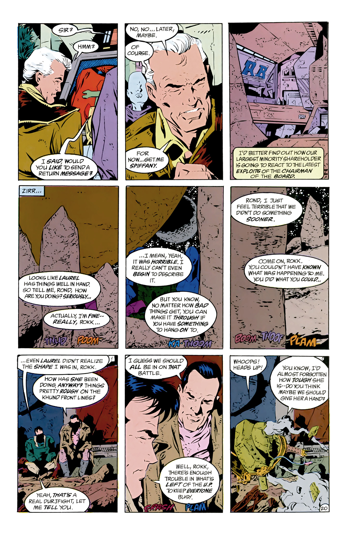 Legion of Super-Heroes (1989) 8 Page 20