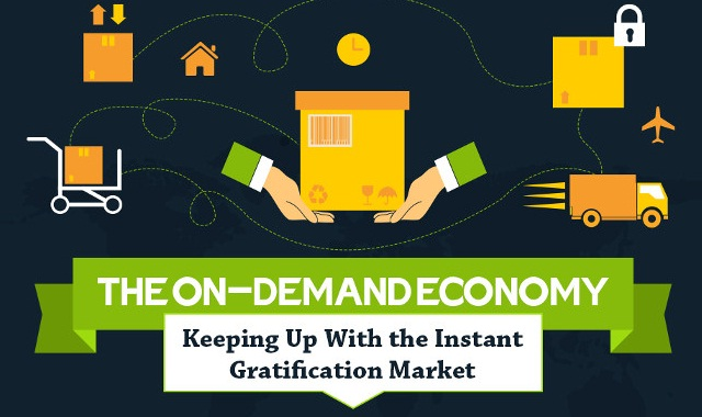 The On-Demand Economy Keeping Up With the Instant Gratification Market