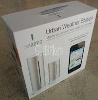Netatmo Wetterstation, Grundpaket