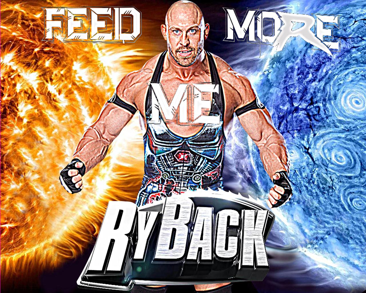 "Creation Studio: WWE: Ryback ""Feed Me More"" Wallpaper"