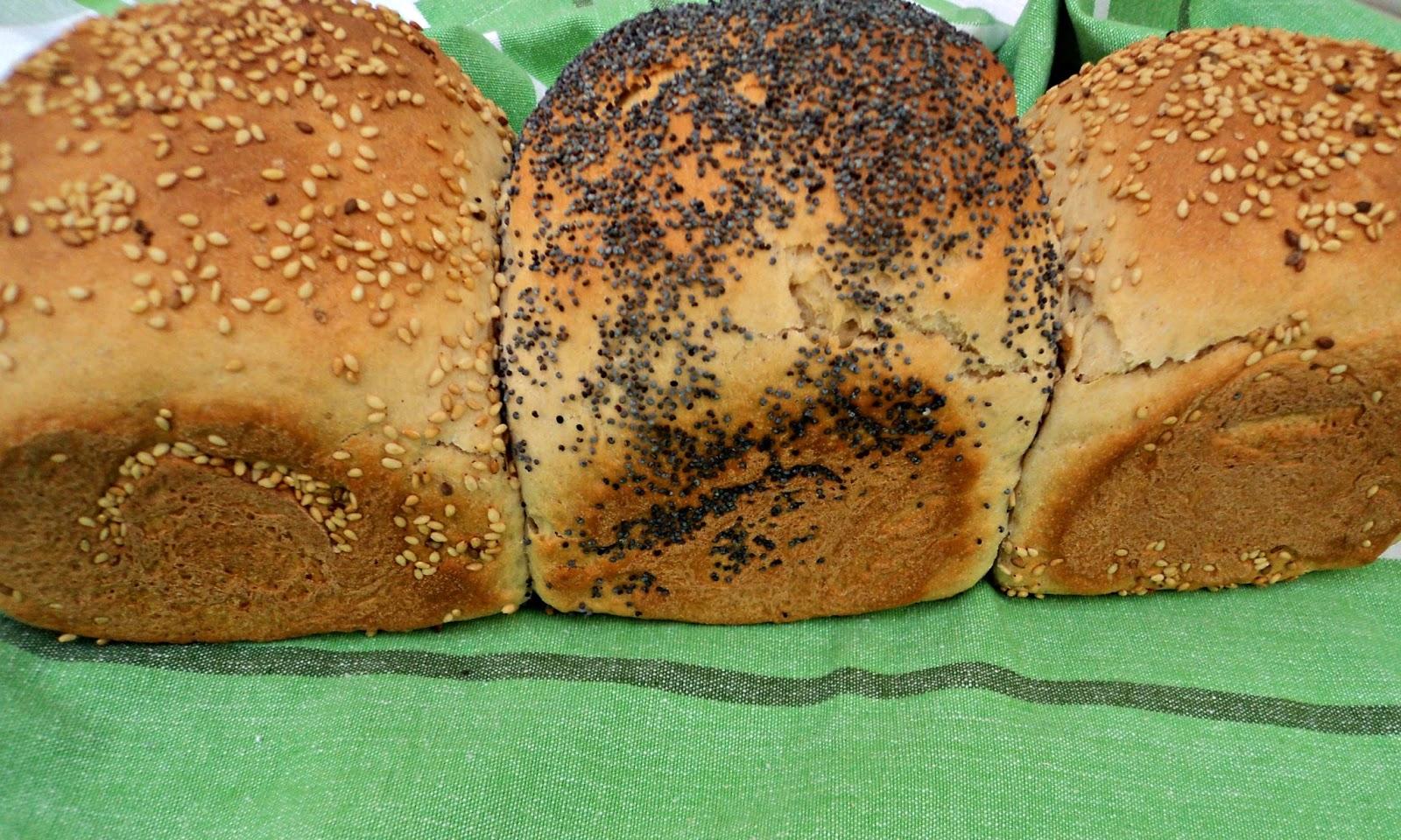 receta casera pan molde granjero centeno