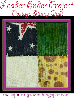 Postage Stamp Quilt Update @homeecmel