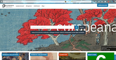 Europeana főoldal