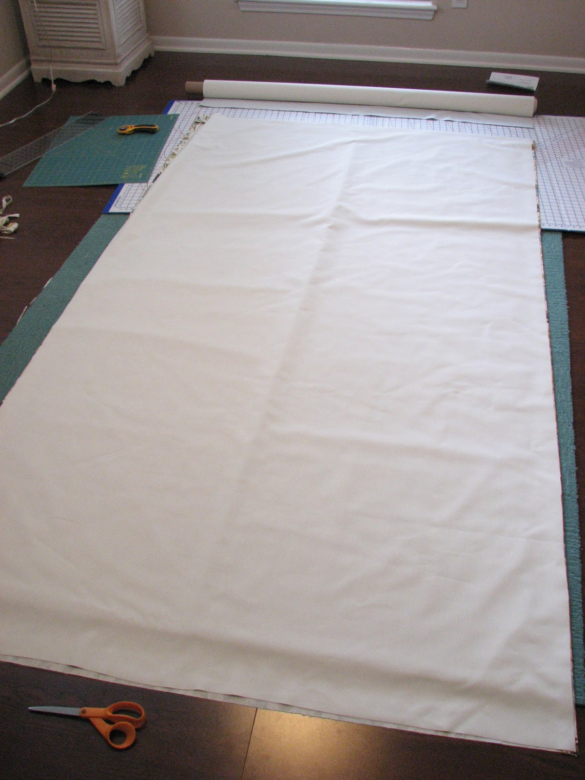 How To Make Lined Curtain Panels Our Nesting Ground Lined Curtain Panels And Tie Back Tutorial
