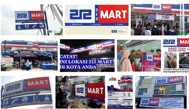 Inilah Alamat Lengkap 212 Mart Se-Indonesia